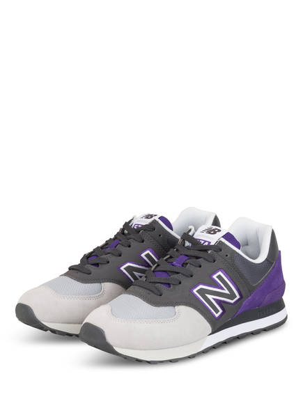 new balance Sneaker ML574, Farbe: GRAU/ LILA/ HELLGRAU (Bild 1)