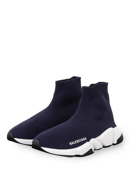 BALENCIAGA Hightop-Sneaker SPEED , Farbe: DUNKELBLAU/ WEISS/ SCHWARZ (Bild 1)
