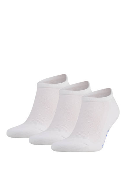 FALKE 3er-Pack Sneakersocken COOL KICK, Farbe: 2000 WHITE (Bild 1)