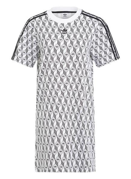 adidas Originals Jerseykleid, Farbe: WEISS/ SCHWARZ (Bild 1)