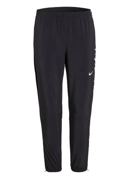 Nike Laufhose ESSENTIAL, Farbe: SCHWARZ/ WEISS (Bild 1)