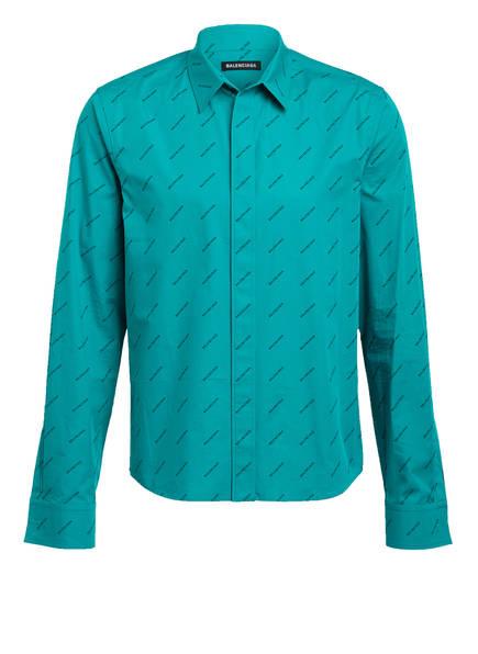 BALENCIAGA Hemd Regular Fit, Farbe: TÜRKIS (Bild 1)