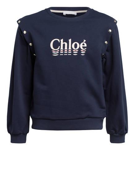 Chloé Sweatshirt, Farbe: DUNKELBLAU (Bild 1)