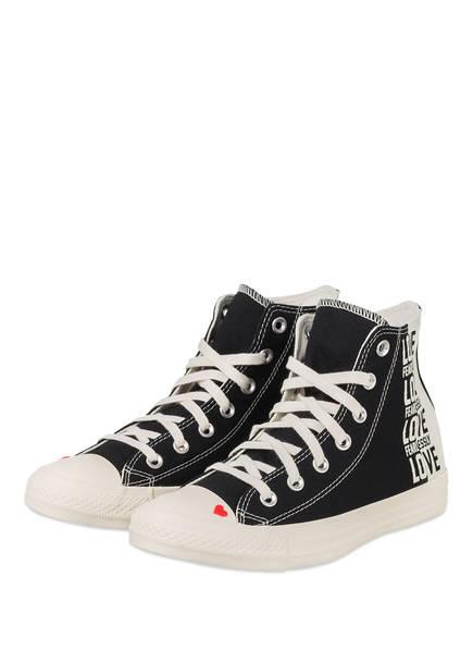 CONVERSE Hightop-Sneaker LOVE FEARLESSLY CHUCK TAYLOR ALL STAR, Farbe: SCHWARZ (Bild 1)