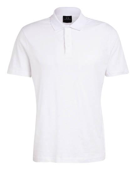 ARMANI EXCHANGE Poloshirt, Farbe: WEISS (Bild 1)