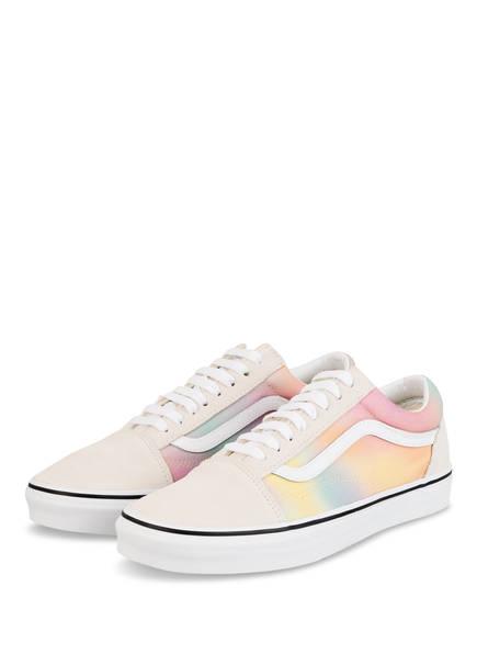 VANS Sneaker OLD SKOOL, Farbe: ROSA/ GELB/ MINT (Bild 1)