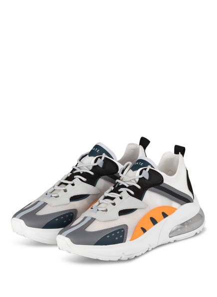 D.A.T.E. Sneaker AURA OTTER, Farbe: WEISS/ ORANGE/ GRAU (Bild 1)