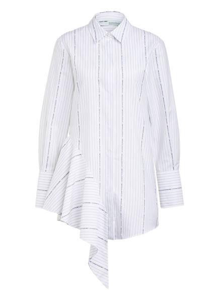 OFF-WHITE Hemdblusenkleid, Farbe: WEISS/ SCHWARZ (Bild 1)