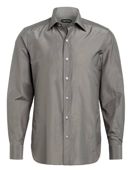 TOM FORD Hemd Extra Slim Fit mit Seide, Farbe: GRAU (Bild 1)