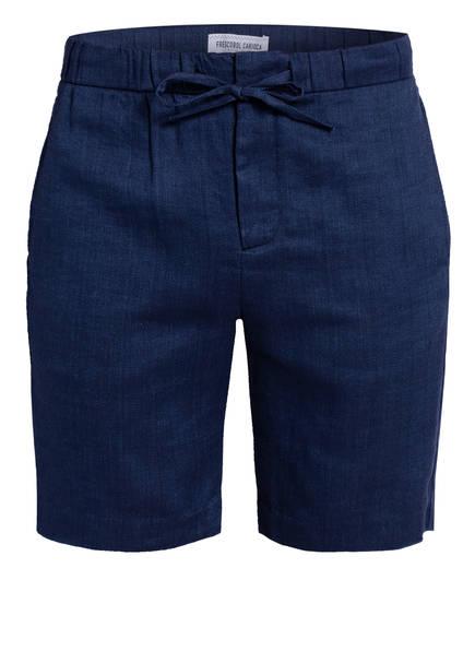 FRESCOBOL CARIOCA Shorts FELIPE mit Leinen, Farbe: NAVY (Bild 1)