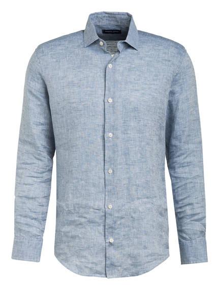 FRESCOBOL CARIOCA Leinenhemd Regular Fit, Farbe: BLAUGRAU (Bild 1)