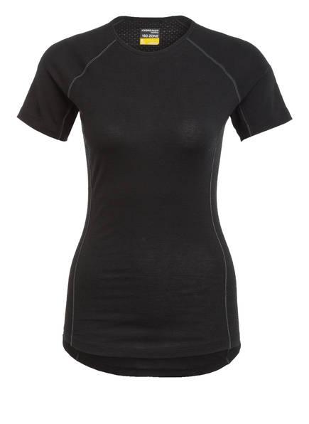 icebreaker Funktionswäsche-Shirt BODYFITZONE™ 150 ZONE mit Merinowolle, Farbe: SCHWARZ (Bild 1)