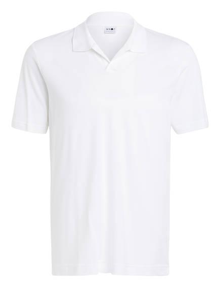 NN07 Piqué-Poloshirt, Farbe: WEISS (Bild 1)