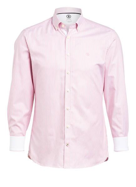 BOGNER Hemd TIMT Regular Fit, Farbe: HELLROSA/ WEISS GESTREIFT (Bild 1)