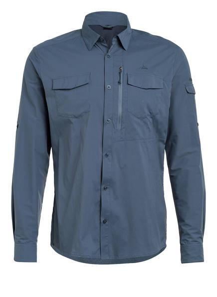 Schöffel Hemd GIBRALTAR 2 Slim Fit, Farbe: PETROL (Bild 1)