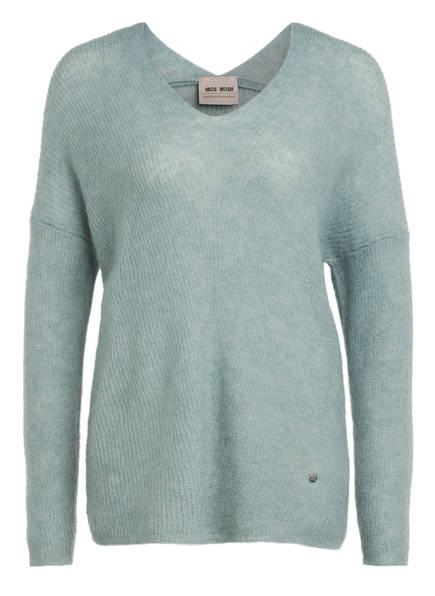 MOS MOSH Pullover THORA mit Mohair, Farbe: MINT (Bild 1)