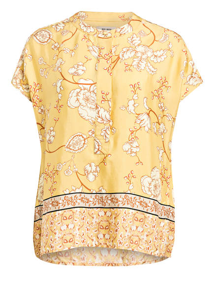MOS MOSH Blusenshirt JESSICA , Farbe: GELB/ ECRU/ HELLBRAUN (Bild 1)