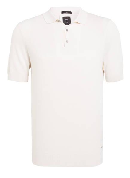 BOSS Strick-Poloshirt MARCO aus Seide , Farbe: CREME (Bild 1)