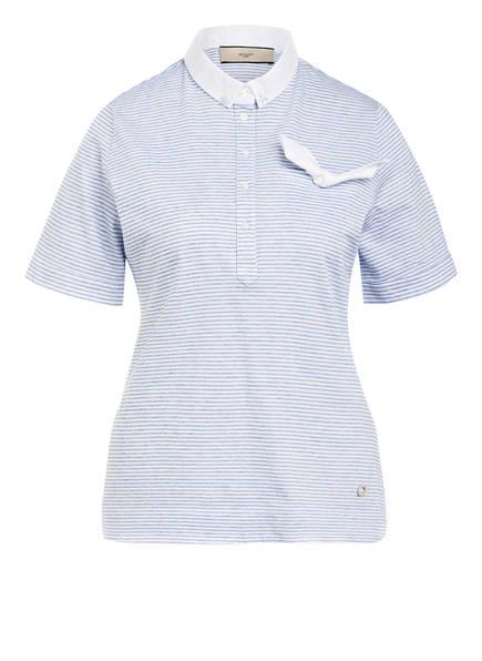 SPOON GOLF Poloshirt, Farbe: HELLBLAU/ WEISS GESTREIFT (Bild 1)