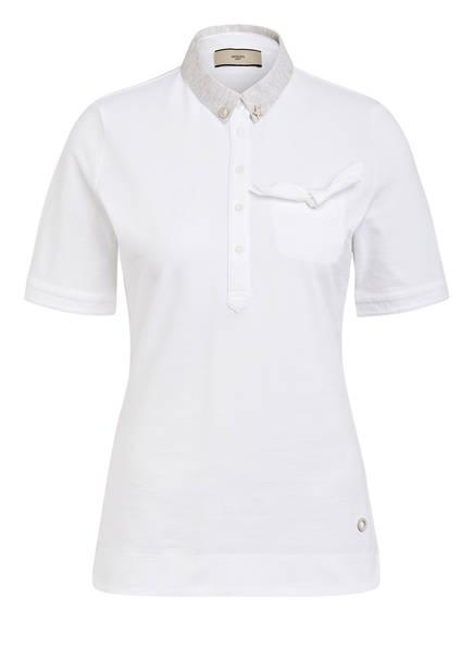 SPOON GOLF Piqué-Poloshirt, Farbe: WEISS (Bild 1)