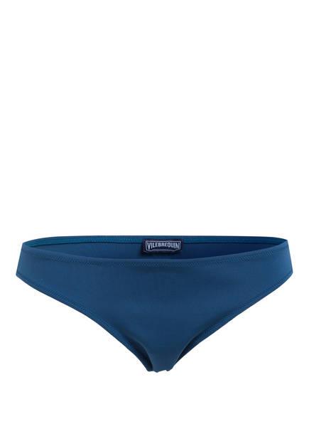 VILEBREQUIN Bikini-Hose SOLID WATER, Farbe: BLAU (Bild 1)