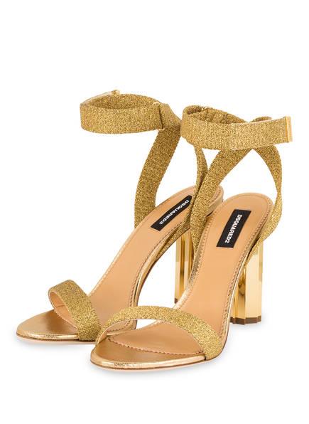 DSQUARED2 Sandaletten, Farbe: GOLD (Bild 1)