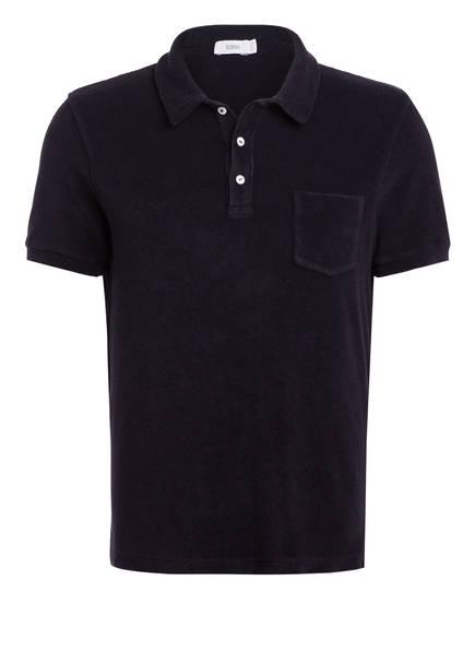 CLOSED Frottee-Poloshirt Regular Fit, Farbe: DUNKELBLAU (Bild 1)