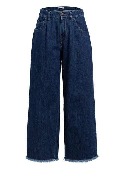 BRUNELLO CUCINELLI Jeans-Culotte, Farbe: C7756 DARK BLUE (Bild 1)