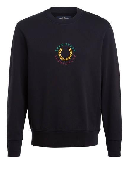FRED PERRY Sweatshirt , Farbe: DUNKELBLAU (Bild 1)
