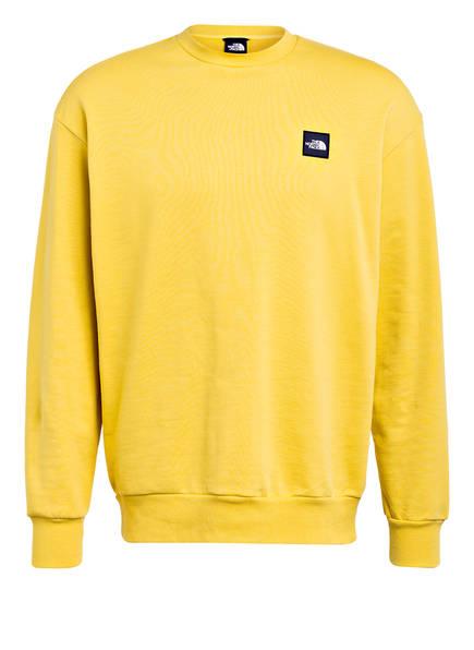THE NORTH FACE Sweatshirt MASTERS OF STONE, Farbe: DUNKELGELB (Bild 1)