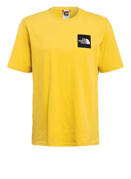 THE NORTH FACE T-Shirt MASTERS OF STONE, Farbe: GELB (Bild 1)