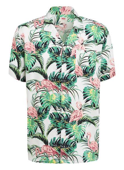 Levi's® Resort-Hemd CUBANO Comfort Fit , Farbe: WEISS/ GRÜN/ HELLROSA (Bild 1)
