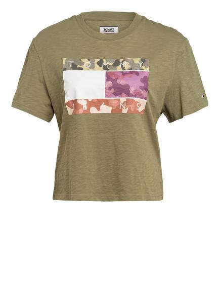 TOMMY JEANS T-Shirt, Farbe: OLIV (Bild 1)