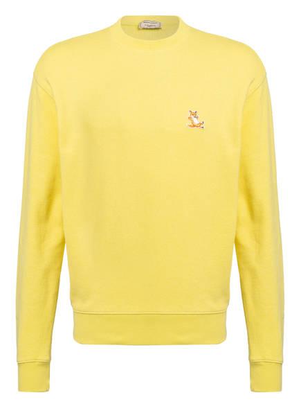 MAISON KITSUNÉ Sweatshirt, Farbe: GELB (Bild 1)