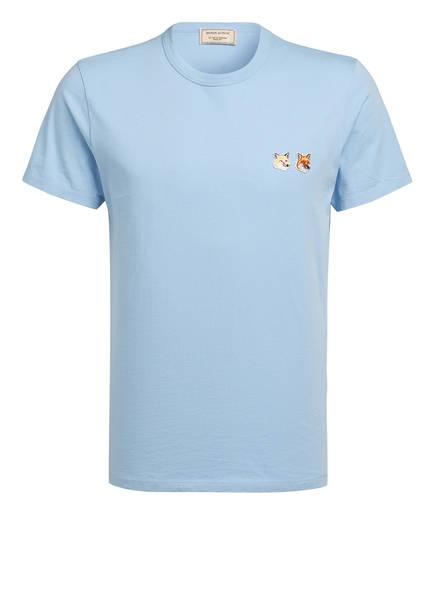 MAISON KITSUNÉ T-Shirt, Farbe: HELLBLAU (Bild 1)