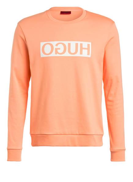 HUGO Sweatshirt DICAGO, Farbe: 830 LIGHT/PASTEL ORANGE (Bild 1)