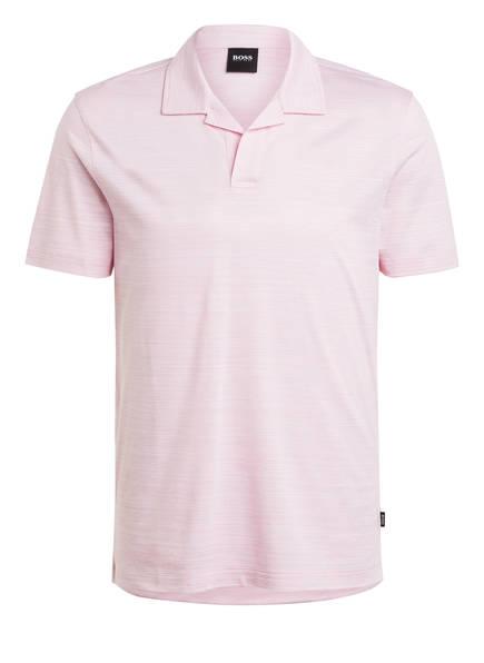 BOSS Jersey-Poloshirt PYE, Farbe: ROSA (Bild 1)