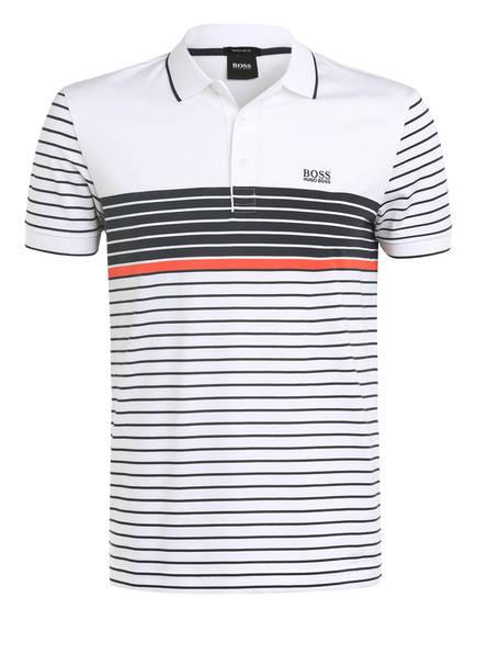 BOSS Jersey-Poloshirt PADDY 7 Regular Fit, Farbe: WEISS/ DUNKELBLAU GESTREIFT (Bild 1)