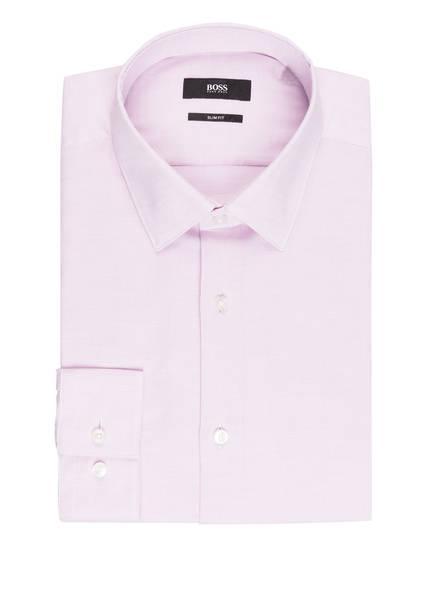 BOSS Hemd ISKO Slim Fit, Farbe: ROSA/ WEISS (Bild 1)