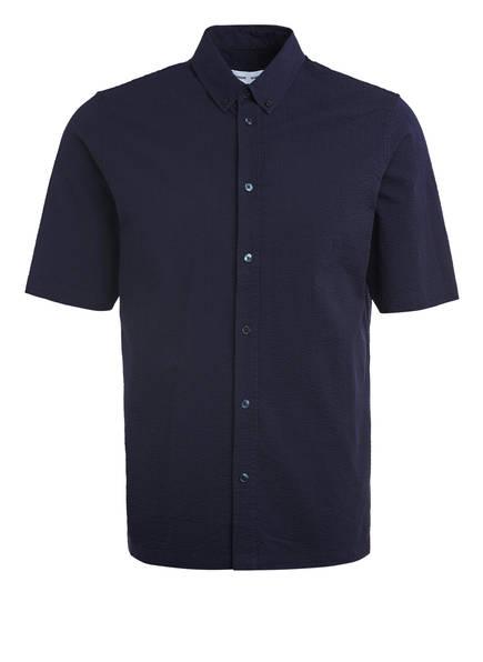 SAMSØE  SAMSØE Kurzarm-Hemd TARO BX Regular Fit, Farbe: DUNKELBLAU (Bild 1)