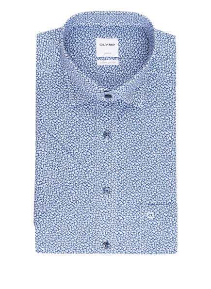 OLYMP Halbarm-Hemd Luxor comfort fit , Farbe: BLAU/ WEISS (Bild 1)