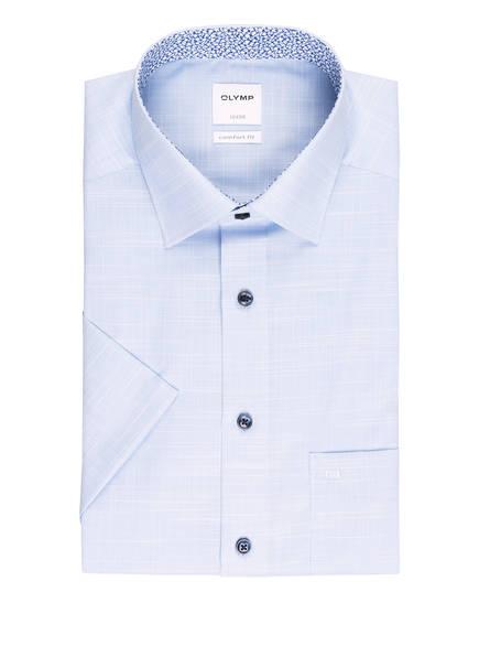OLYMP Kurzarm-Hemd Luxor comfort fit , Farbe: HELLBLAU/ WEISS (Bild 1)