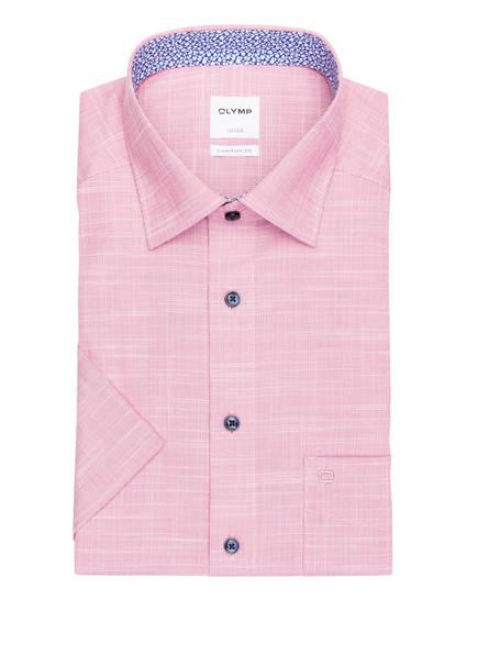 OLYMP Kurzarm-Hemd Luxor comfort fit , Farbe: ROT/ WEISS (Bild 1)