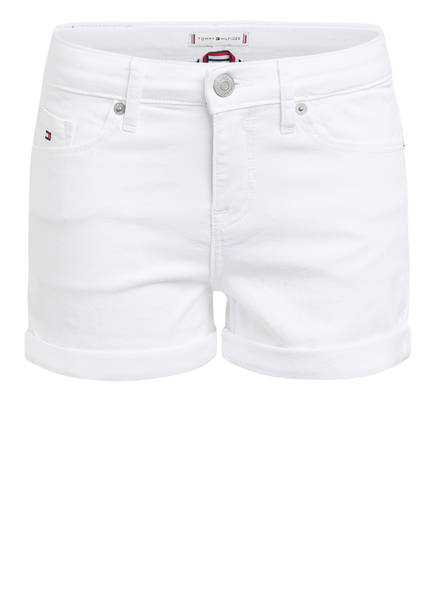 TOMMY HILFIGER Shorts NORA Skinny Fit, Farbe: WEISS (Bild 1)
