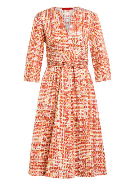 MAX & Co. Kleid DIONISIO mit 3/4-Arm, Farbe: CREME/ HELLORANGE/ DUNKELORANGE (Bild 1)