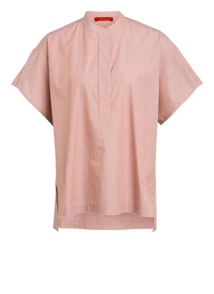 MAX & Co. Oversized-Blusenshirt CATANIA, Farbe: DUNKELROT/ ECRU (Bild 1)