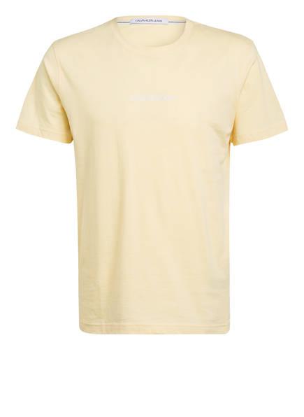 Calvin Klein Jeans T-Shirt, Farbe: HELLGELB (Bild 1)