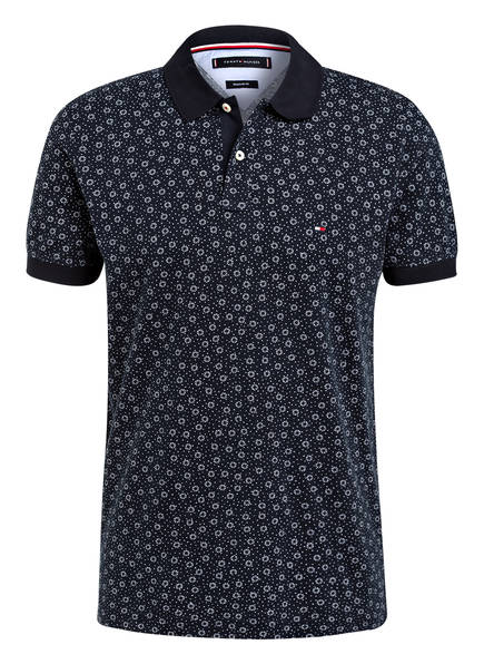 TOMMY HILFIGER Piqué-Poloshirt Regular Fit, Farbe: DUNKELBLAU (Bild 1)
