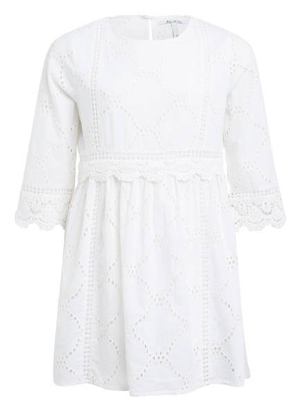 Pepe Jeans Kleid MAKRAME mit 3/4-Ärmel , Farbe: WEISS (Bild 1)