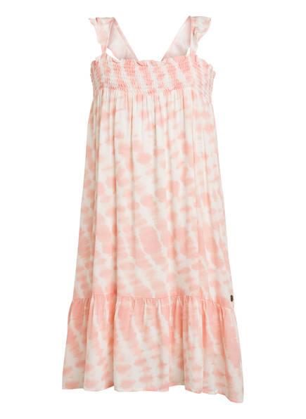 Pepe Jeans Kleid BLANKI, Farbe: HELLORANGE/ WEISS (Bild 1)